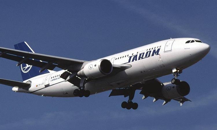 طيران من بوخارست إلي بيروت