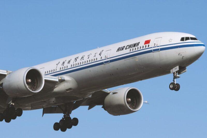 طيران من كوبنهاجن الي الصين