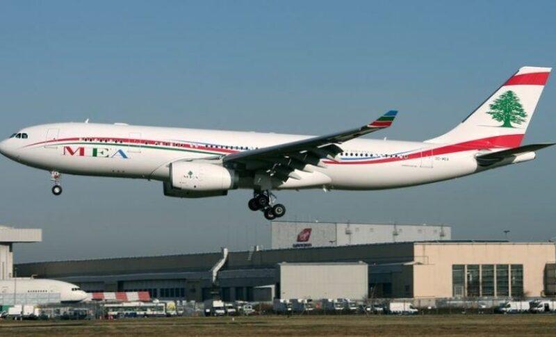 طيران من كوبنهاعن الي بيروت