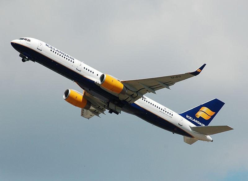 طيران من فرانكفورت الي ريكيافيك