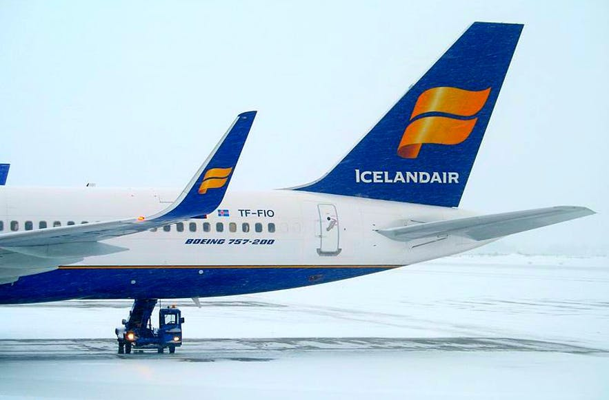 طيران من كوبنهاغن الي ريكيافيك