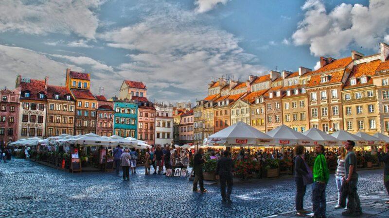 أماكن سياحية في وارسو