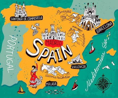 السفر الى اسبانيا للمغاربة .... تعرف علي الطريقة