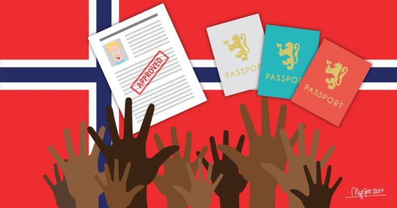 الهجرة للمصريين الي النرويج