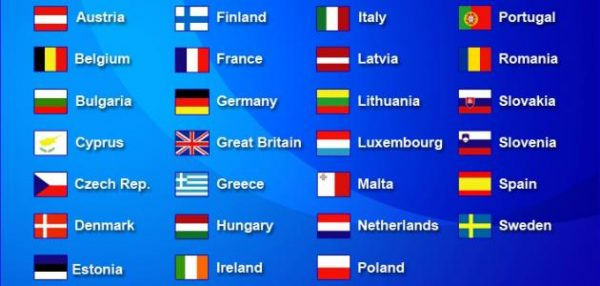 الدول الأعضاء فى منطقة الشنغن