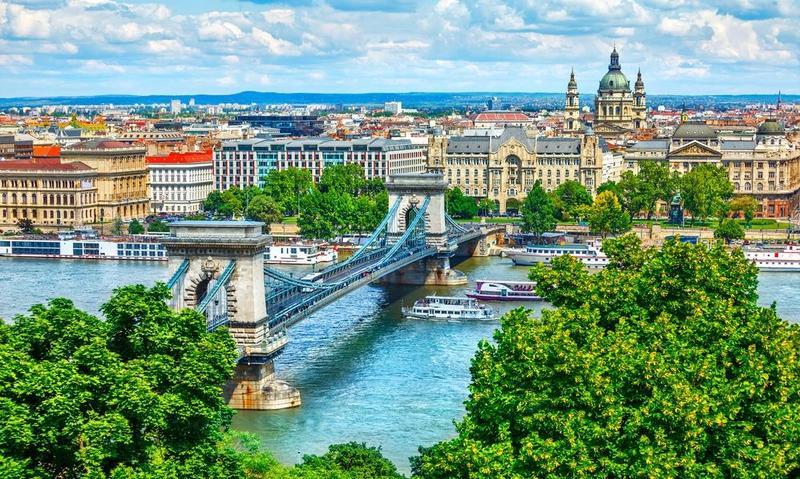 الاماكن السياحية في بودابست.