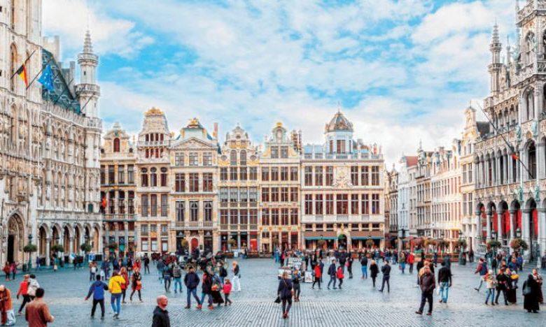 الاماكن السياحية في بروكسل.