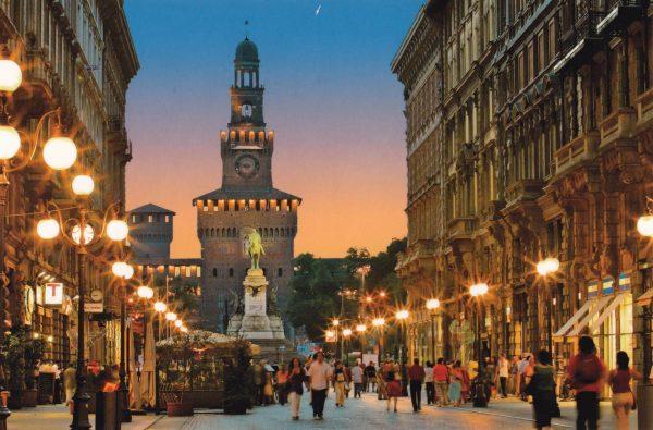 الاماكن السياحية في ميلانو.