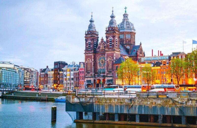 اماكن سياحية في امستردام.
