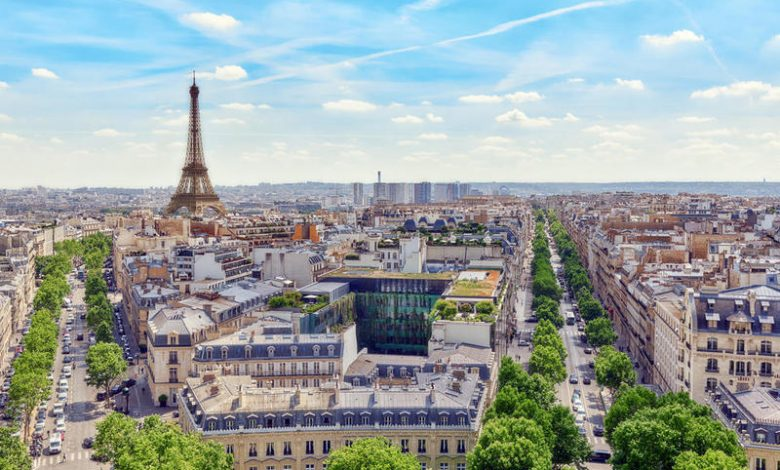 اماكن سياحية في باريس.