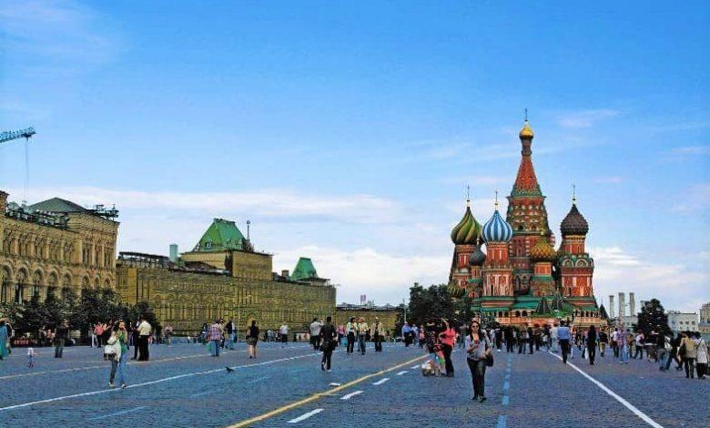 اماكن سياحية في موسكو