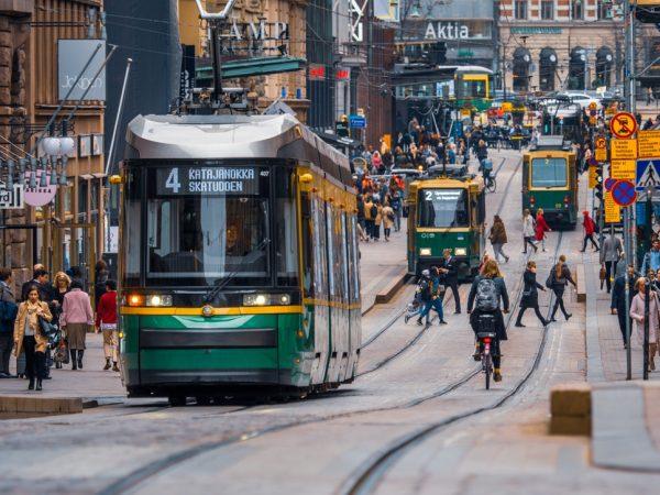 وسائل النقل فى هلسنكى