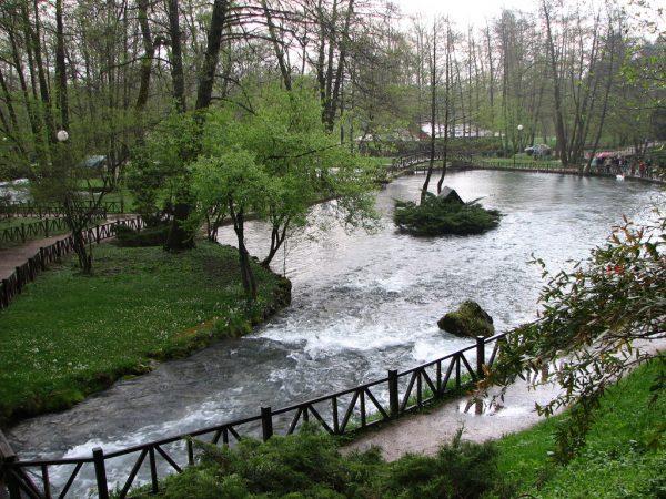 جمال الطبيعة فى نهر البوسنة