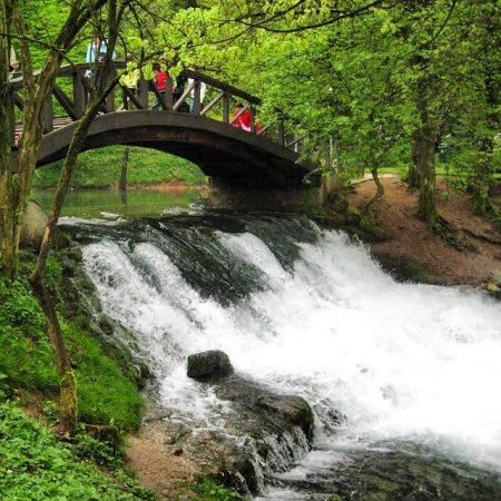 حديقة فريلو أحد المناطق القريبة من نهر البوسنة