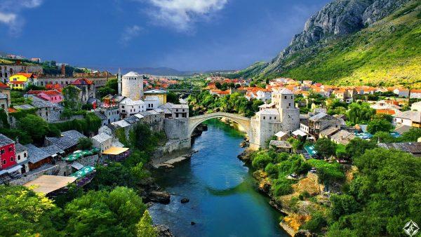 مدن البوسنة السياحية