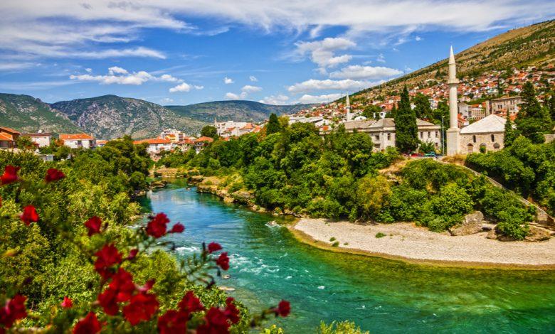 مدن البوسنة السياحية.