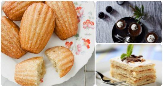 حلويات فرنسية بسيطة