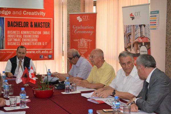 المعهد الكندى للتكنولوجيا فى ألبانيا