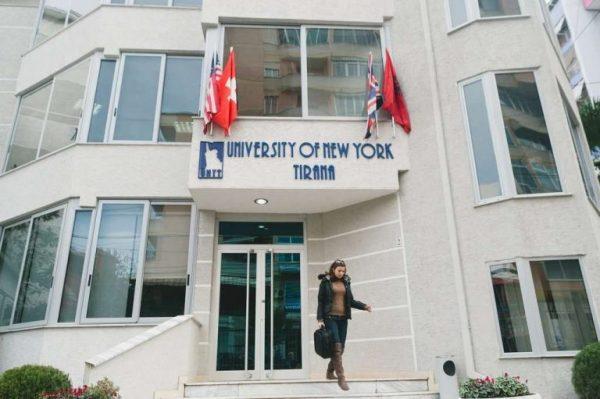 جامعة نيويورك تيرانا