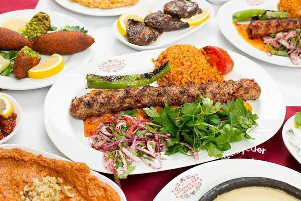 أشهر أطباق مطعم المدينة تركيا