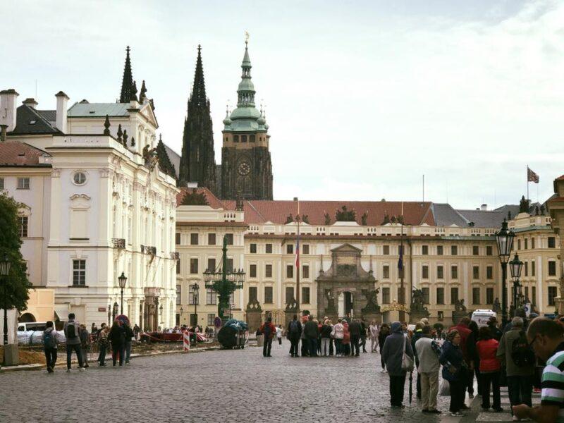 رحلتي الى التشيك