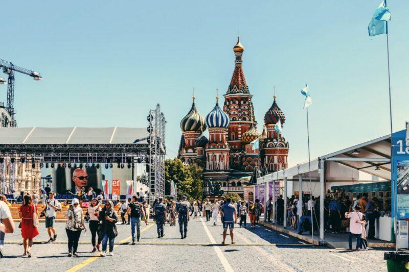 رحلتي الى موسكو