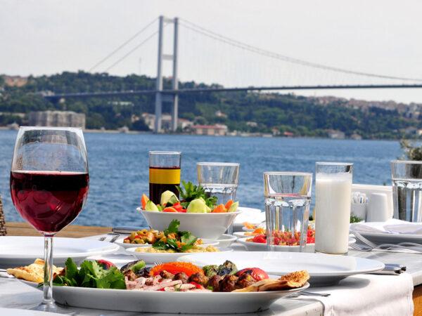 تكلفة الطعام والشراب فى تركيا