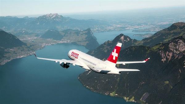 حجز الطيران إلى سويسرا