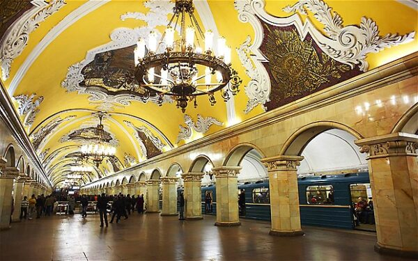 مترو موسكو