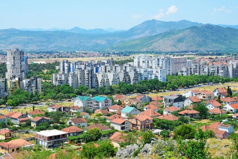 عاصمة الجبل الاسود