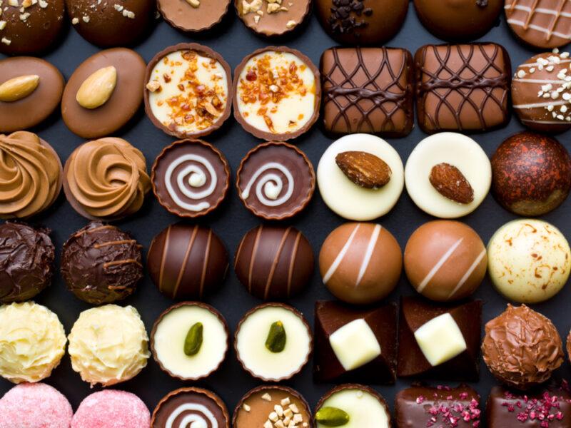 استيراد الشوكولاته من بلجيكا