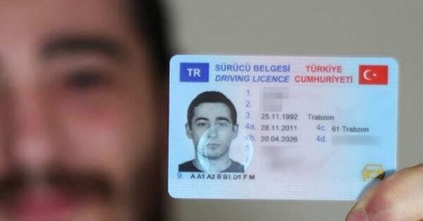 رخصة قيادة السيارة فى تركيا للأجانب