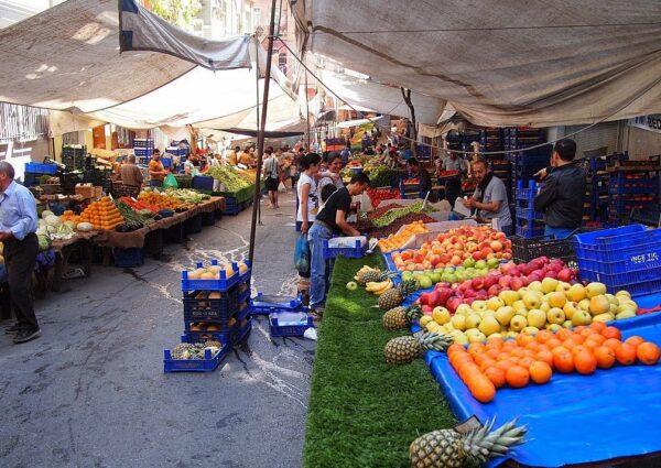 سوق beyoglu balk pazari