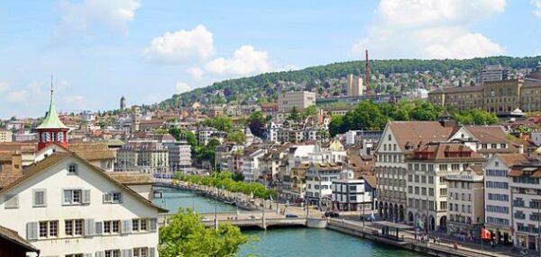 اكبر مدينة من حيث عدد السكان في سويسرا