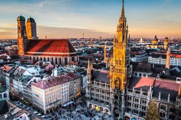 مدينة ميونخ عاصمة ألمانيا الخفية