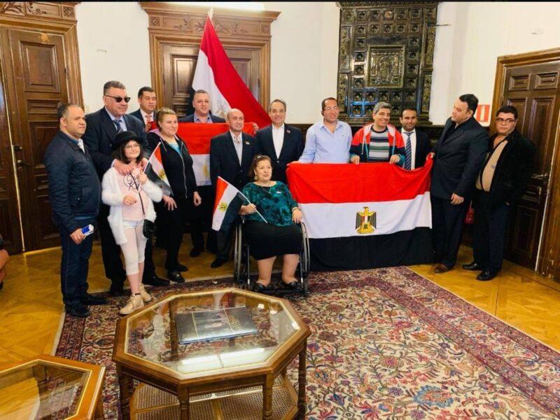 المصريين في السويد