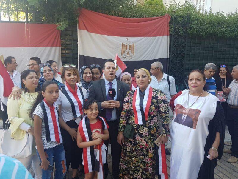 المصريين في اليونان