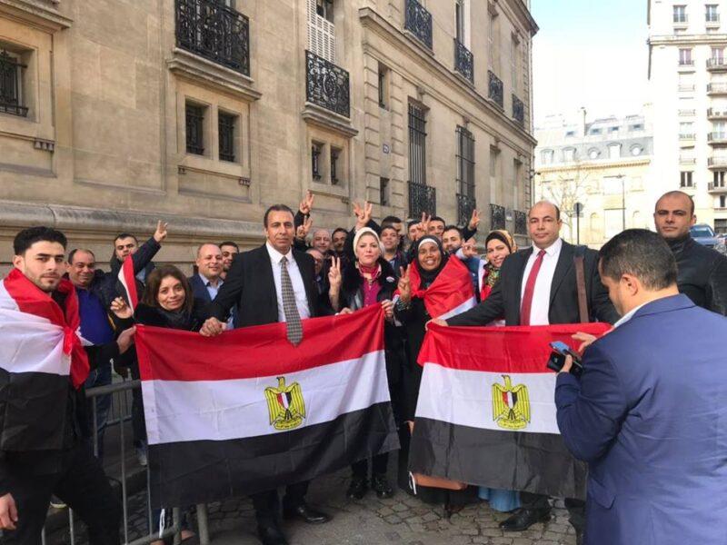 المصريين في فرنسا