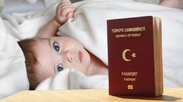 تسجيل المولود الجديد فى تركيا