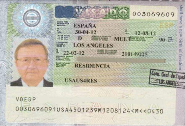 استخراج فيزا اسبانيا من الرياض