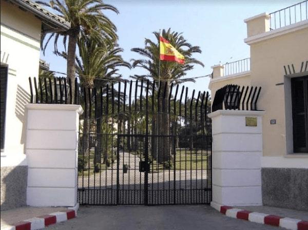 السفارة الأسبانية فى الرياض