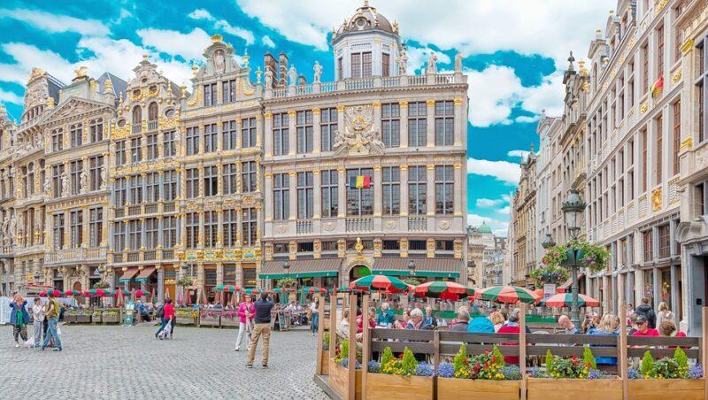 الحياة في بلجيكا للسوريين