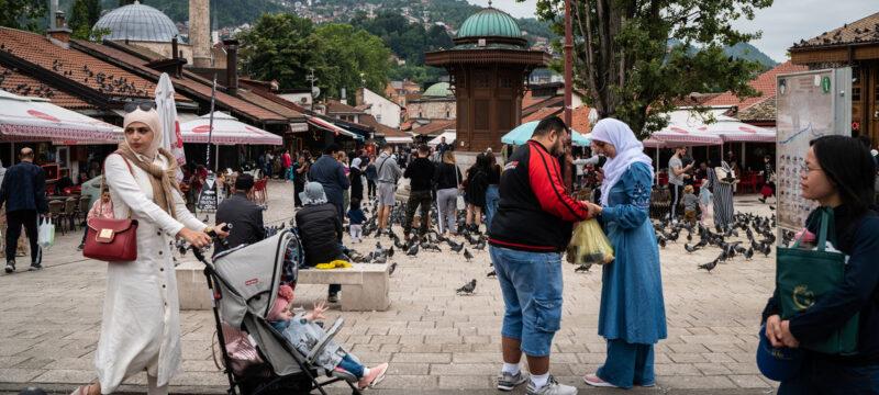 الحياة والعمل في البوسنة