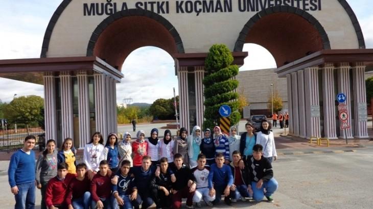 جامعة موغلا تجمع الطلبة في تركيا