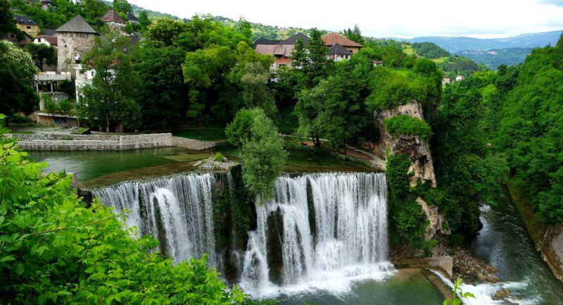 شلالات يايتسا البوسنة