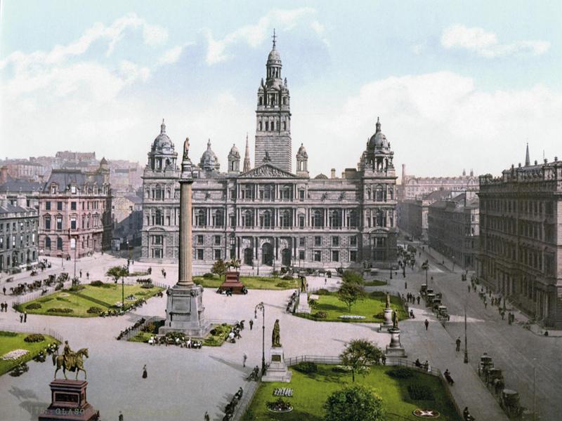 مدينة غلاسكو الاسكتلندية مدينة الفن و السحر و الجمال